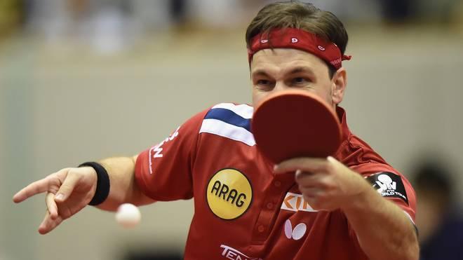 Timo Boll erreicht beim Weltcup in Paris das Viertelfinale