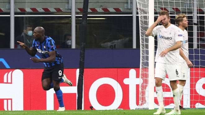 Romelu Lukaku war mit seinem später Treffer der Spielverderber der Gladbacher