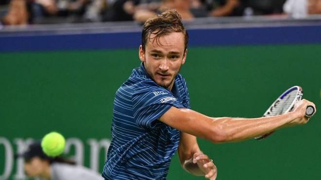 Daniil Medvedev ist der Newcomer der laufenden Tennis-Saison.