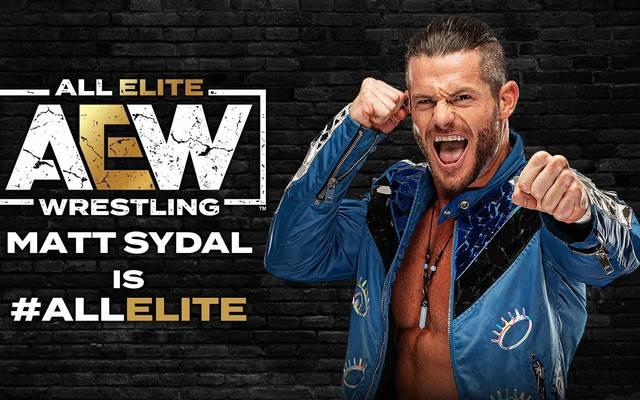 Matt Sydal debütierte bereits beim All Out PPV für den WWE Konkurrenten AEW