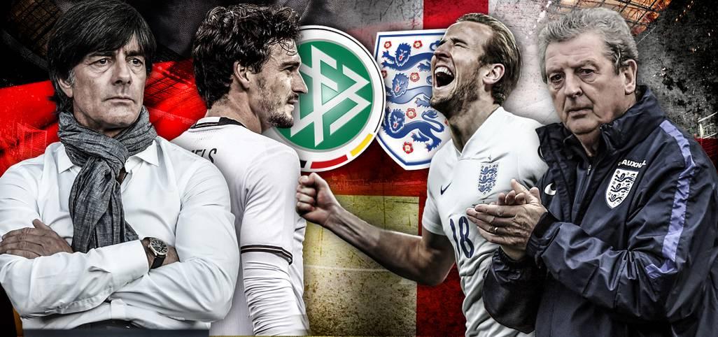 Der Klassiker steht an, Deutschland empfängt England, um seine EM-Form zu testen - ab 20 Uhr LIVE in unserem Sportradio SPORT1.fm und dem LIVETICKER. Das Head-to-Head