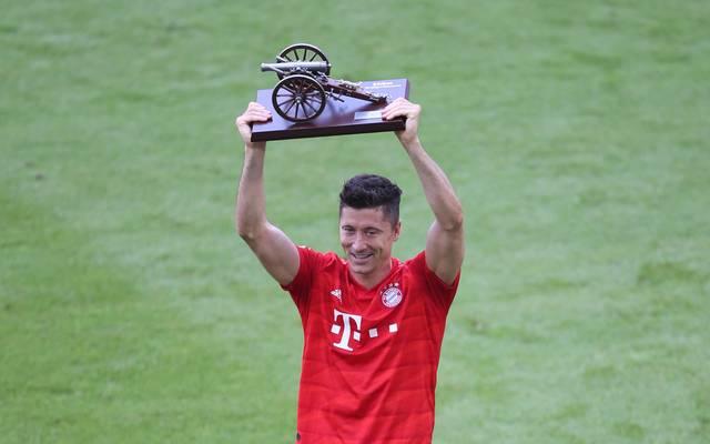 Robert Lewandowski wird aller Voraussicht nach zum fünften Mal bester Torschütze der Bundesliga