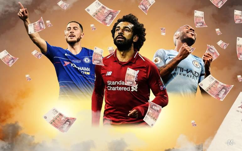 In der Premier League war die Meisterschaft so spannend wie schon seit Jahren nicht mehr, am Ende konnte Manchester City den Titel verteidigen. Dass es in England um enorm viel Geld geht, ist bekannt. Die Dimensionen werden aber immer erschreckender.