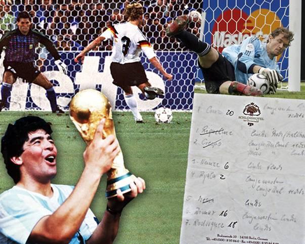 Ob im WM-Finale 1986 und 1990 oder im Viertelfinale 2006 und 2010: Der Klassiker Deutschland - Argentinien steht für beinharte Duelle, große Triumphe, kuriose Anekdoten und schmerzhafte Niederlagen. SPORT1 blickt zurück