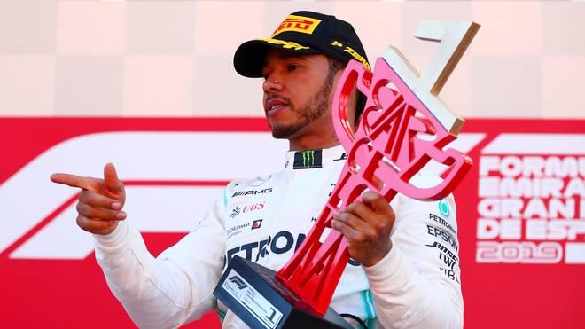 Lewis Hamilton gewann den Großen Preis von Spanien