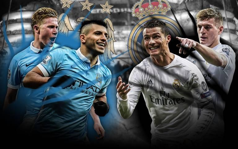 Teil 1 im Halbfinal-Showdown der Königsklasse: Manchester City empfängt Real Madrid und setzt dabei vor allem auf die Offensive. Dort hat aber auch Real Madrid seine Stärken. SPORT1 vergleicht die beiden Teams im Head-to-Head