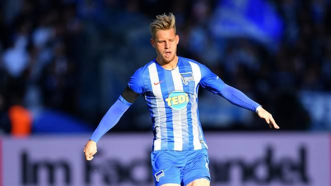 DFB, U 21: Arne Maier von Hertha BSC sagt Länderspiele ab, Herthas Arne Maier fällt für die Länderspiele der U21 verletzt aus