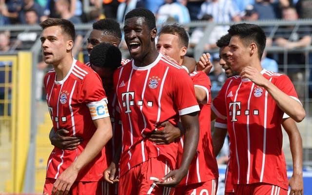 Kwasi Wriedt (M.) wird den FC Bayern am Saisonende wohl verlassen