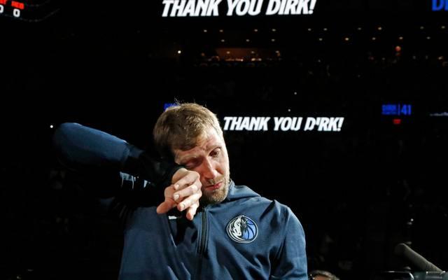 Dirk Nowitzki beendet seine NBA-Karriere