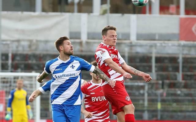 Den Würzburger Kickers droht eine Spielabsage
