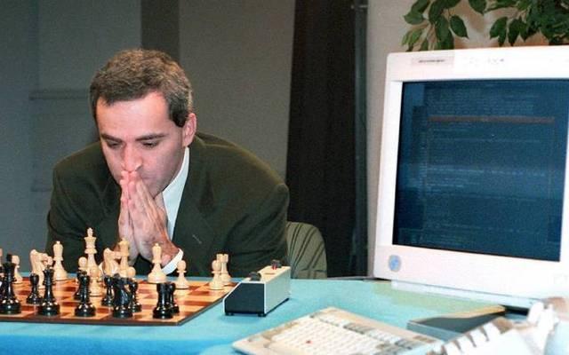 Garri Kasparow verlor gegen den Computer Deep Blue