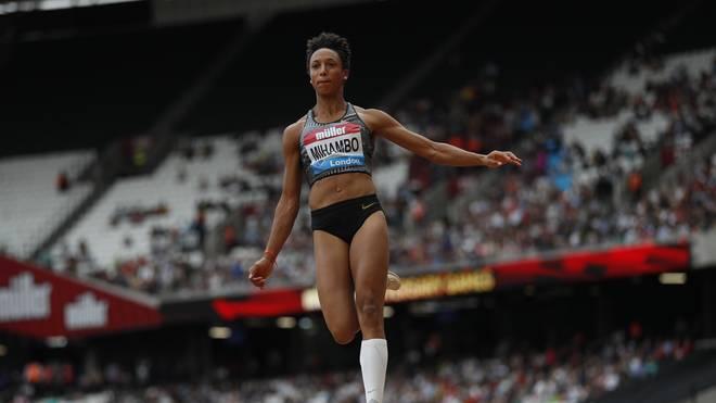 Weitsprung-Europameisterin Malaika Mihambo