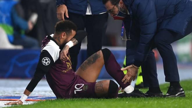 Neymar zog sich offenbar eine Oberschenkelverletzung zu