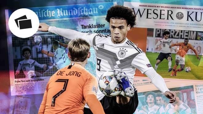 Leroy Sane überzeugte gegen die Niederlande mit einer starken Leistung