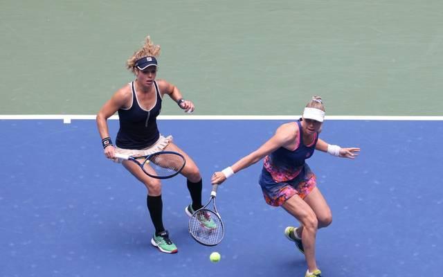 Bei den US Open holte Laura Siegemund (links) den Titel