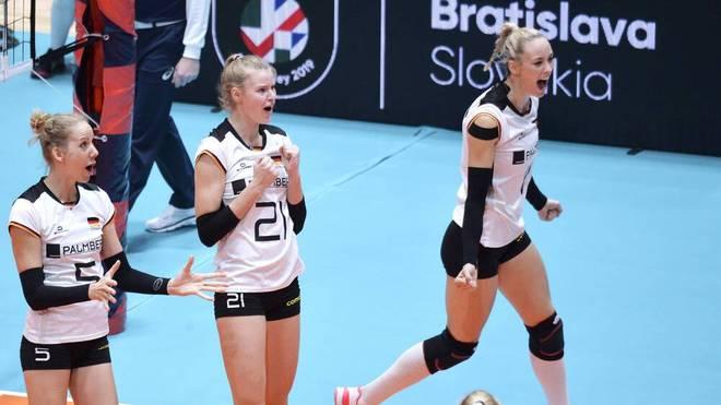Das DVV-Team schlug Südkorea klar