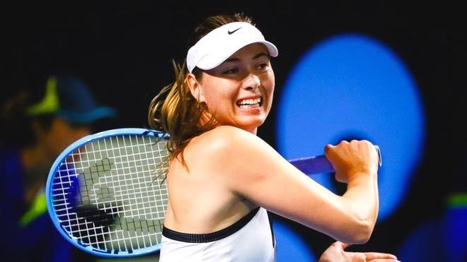 Maria Sharapova unterlag Jennifer Brady in Brisbane
