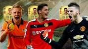 Bernd Leno, Roman Bürki und David De Gea bei FIFA 18