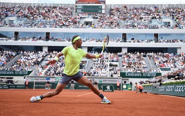 Die French Open mit Rekordsieger Rafael Nadal wurden erneut nach hinten verschoben