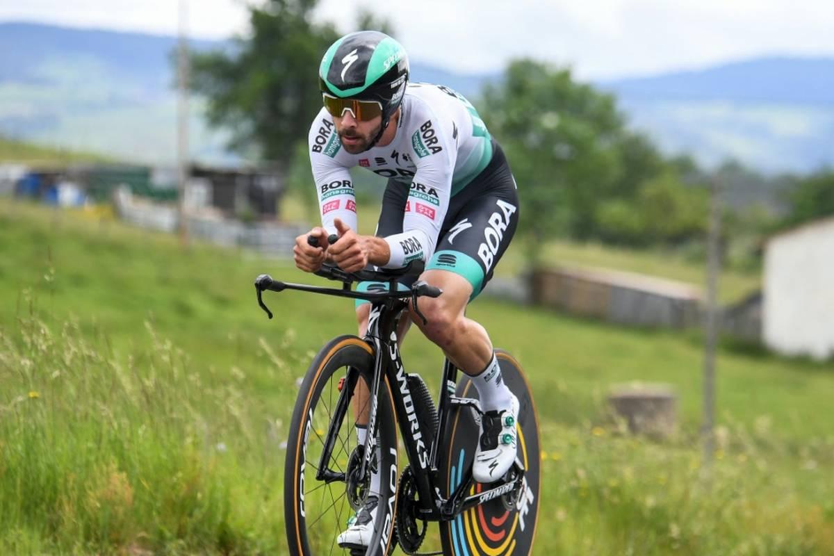 Der deutsche Radprofi Michael Schwarzmann wechselt vom deutschen Rennstall Bora-hansgrohe zu Lotto Soudal.