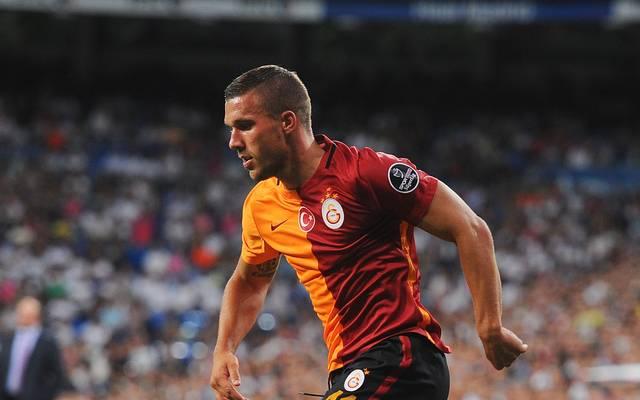 Lukas Podolski spielt seit Sommer 2015 für Galatasaray