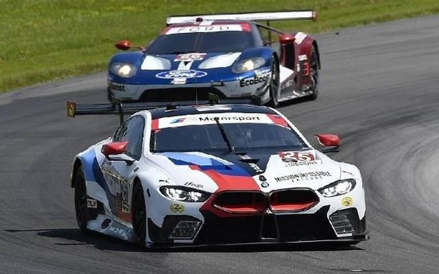 BMW und Ford sind GTE-Wackelkandidaten (Szene aus der IMSA)