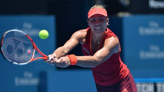 Angelique Kerber zog in Brisbane ins Finale ein