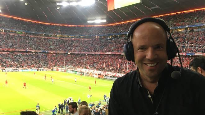 Hartwig Thöne in Aktion für SPORT1