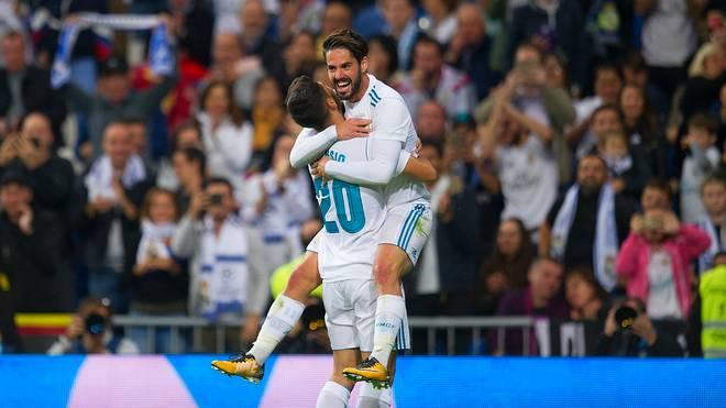 Isco und Asensio jubeln für Real Madrid