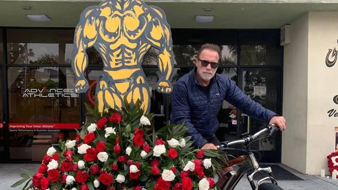 Arnold Schwarzenegger ehrt den ums Leben gekommenen Shad Gaspard