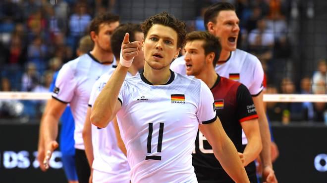 Die deutschen Volleyballer holten bei der Europameister sensationell Silber