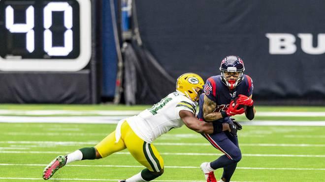 Will Fuller (r.) wird nicht zu den Green Bay Packers wechseln