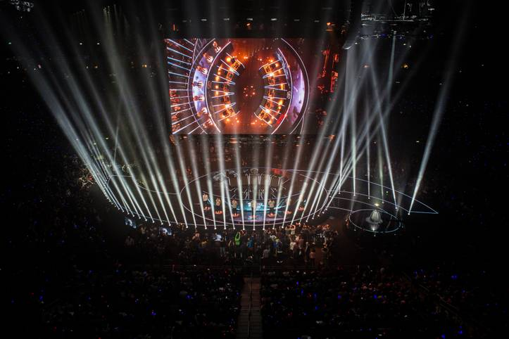 Das WM-Finale in League of Legends fand 2015 in der Berliner Mercedes-Benz Arena statt