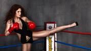 Kickbox-Weltmeisterin Marie Lang will ihren 37. Sieg einfahren