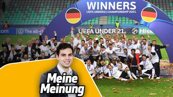 Die deutsche U21 holte zum dritten Mal nach 2009 und 2017 den EM-Titel