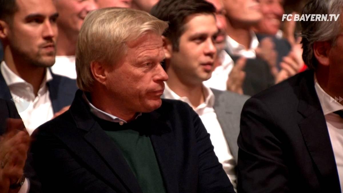 Oliver Kahn auf der Jahreshauptversammlung des FC Bayern