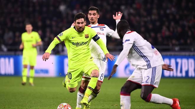 Der FC Barcelona steht im Rückspiel gegen Olympique Lyon unter Druck