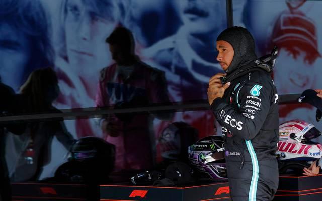 Formel-1-Pilot Lewis Hamilton ist künftig in der Extreme-E-Meisterschaft selbst Teamchef