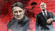 Niko Kovac, Karl-Heinz Rummenigge im Werben um Leroy Sané