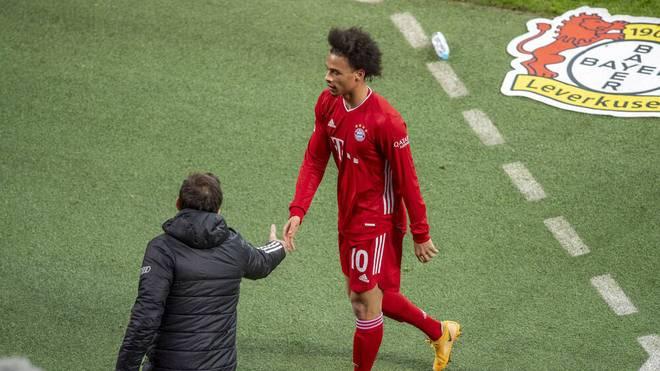 Leroy Sané wurde nur 36 Minuten nach seiner Einwechselung wieder ausgewechselt