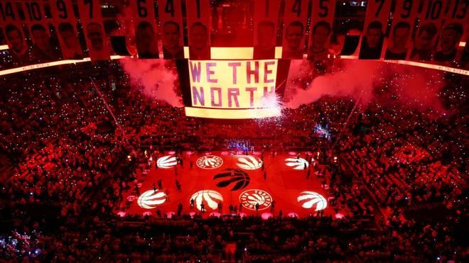 In der Scotiabank Arena findet vorerst kein Spiel statt