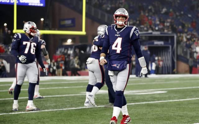 Jarrett Stidham von den New England Patriots ist verletzt