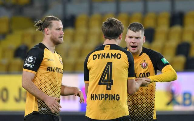 Dynamo Dresden schlug Wehen Wiesbaden