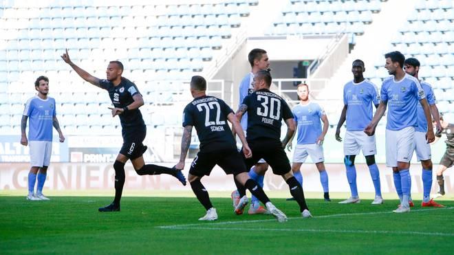 Eintracht Braunschweig springt an die Spitze der 3. Liga