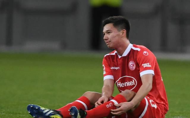 Shinta Appelkamp ist Stammspieler bei Fortuna Düsseldorf