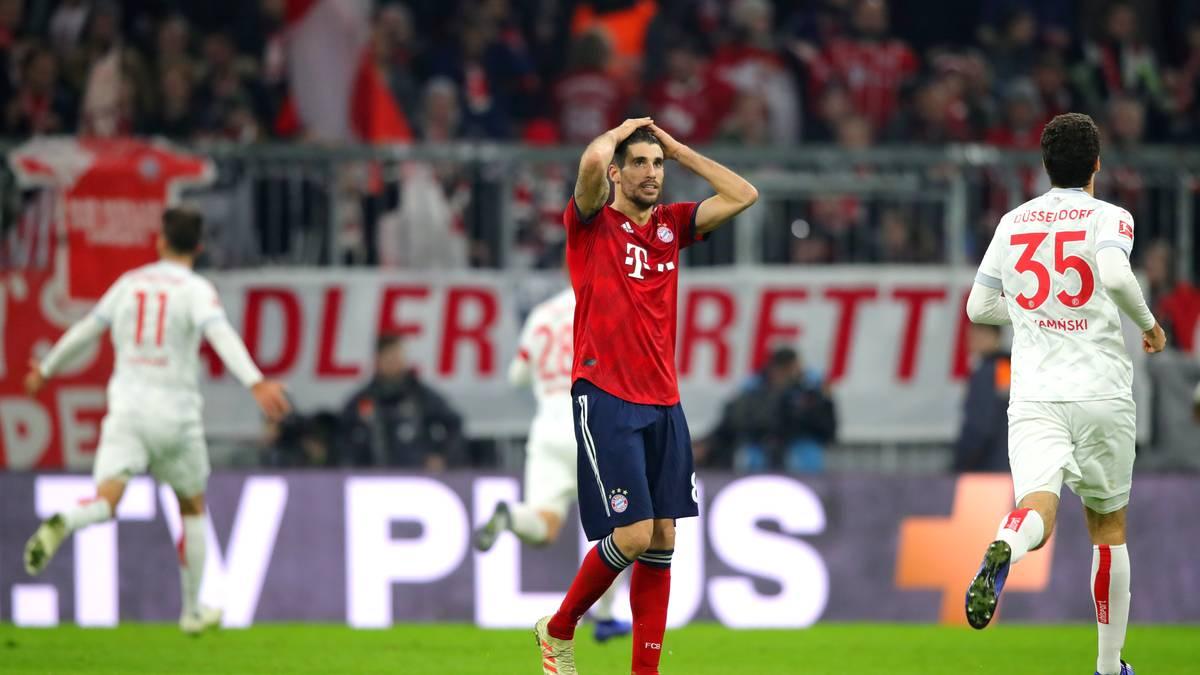 Der FC Bayern München hat gegen Fortuna Düsseldorf einen Sieg verpasst