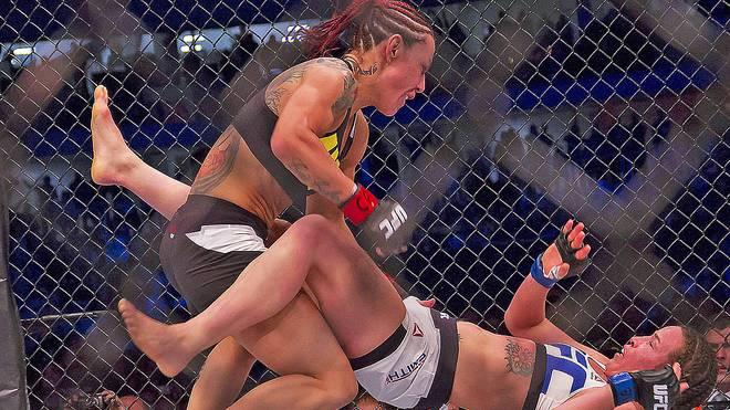 """""""Cyborg"""" feierte einen perfekten Einstand bei der UFC"""