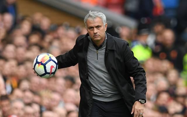Jose Mourinho trainiert seit 2016 Manchester United