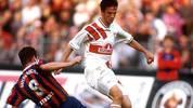 In der Saison 1995/1996 wird Bobic mit 17 Treffern Bundesliga-Torschützenkönig