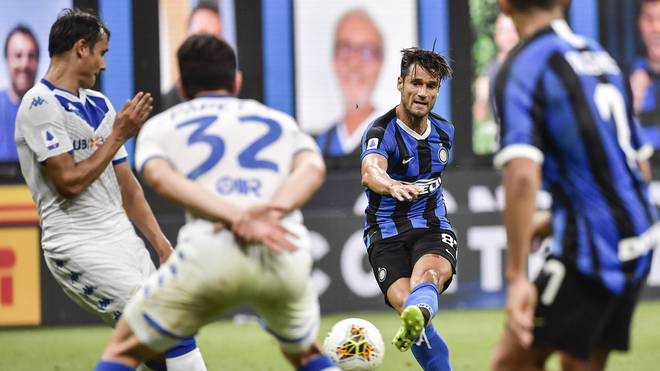 Inter Mailand steht mit einem Bein in der Champions League